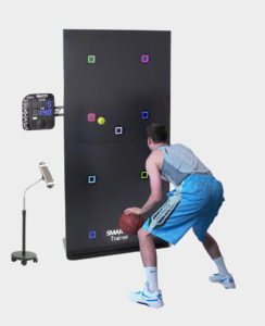 Man using SMARTfit for Basketball training
