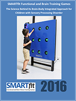 Youth boy using SMARTfit for children with sensory processing disorder