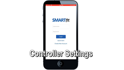 SMARTfitOS Controller Settings