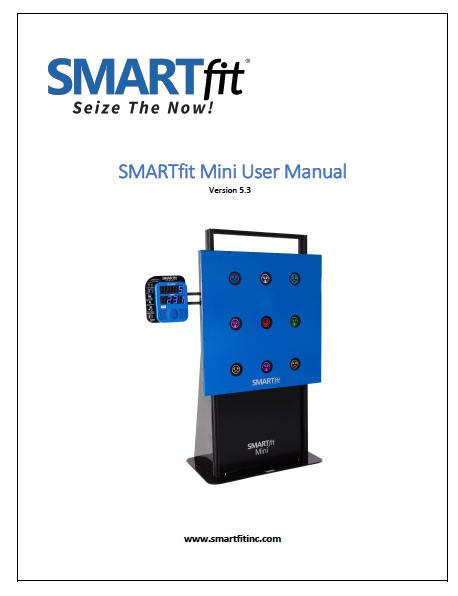 SMARTfit Mini User Manual 5.3
